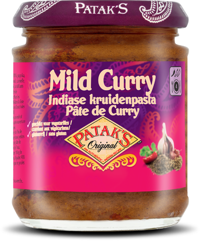 Milde Curry kruidenpasta