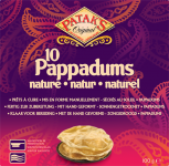Pappadums Naturel - Cook to Eat